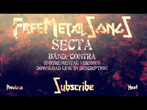 Royalty Free Metal - Secta (by CONTRA) Instrumental version - Download link in description
