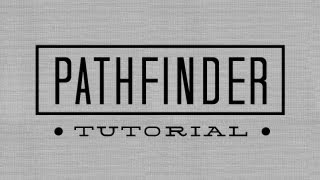 How to Use The Pathfinder Function In Adobe Illustrator CS6