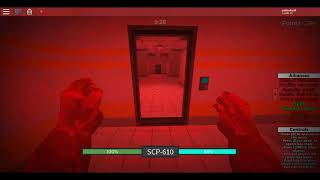 somo escape from CB being scp-610(Roblox)