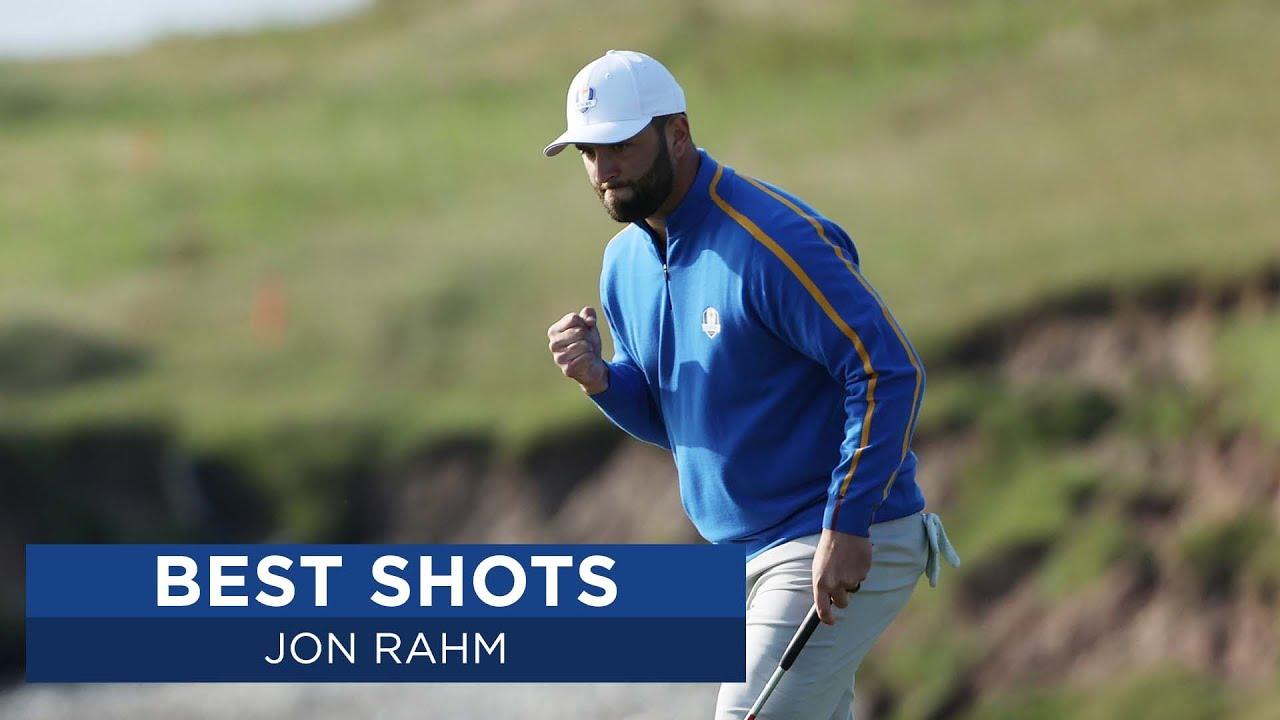Jon Rahm's Best Shots   2020 Ryder Cup