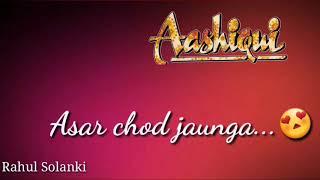 Is Tarah Aashiqui Ka Asar Chod Jaunga-whatsapp status