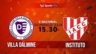Villa Dálmine vs Institute full match