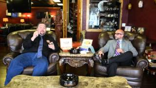 Ashton Cigar Distributors, visits The Man Cave Cigar Lounge in League City, Texas