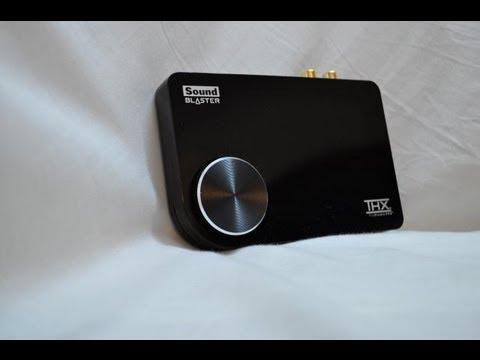 Обзор Creative Sound Blaster X-Fi Surround 5.1 Pro (пользовательский)