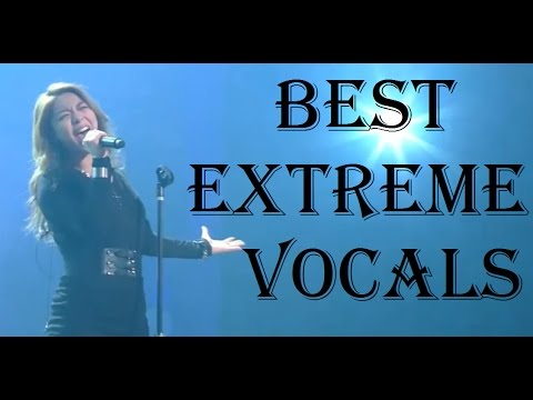 BEST EXTREME VOCALS - FEMALE KOREAN SINGERS PART 2