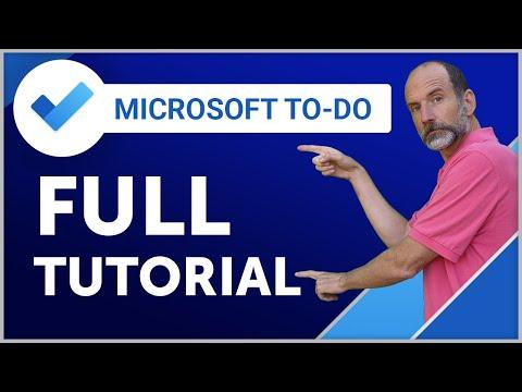 Microsoft To-Do | 2019 Full Tutorial
