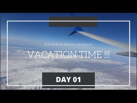 Armenia 🇦🇲 Day 1 | Dubai To Armenia 🛫🌨 | Flydubai 🛫| Rayna Lapitan