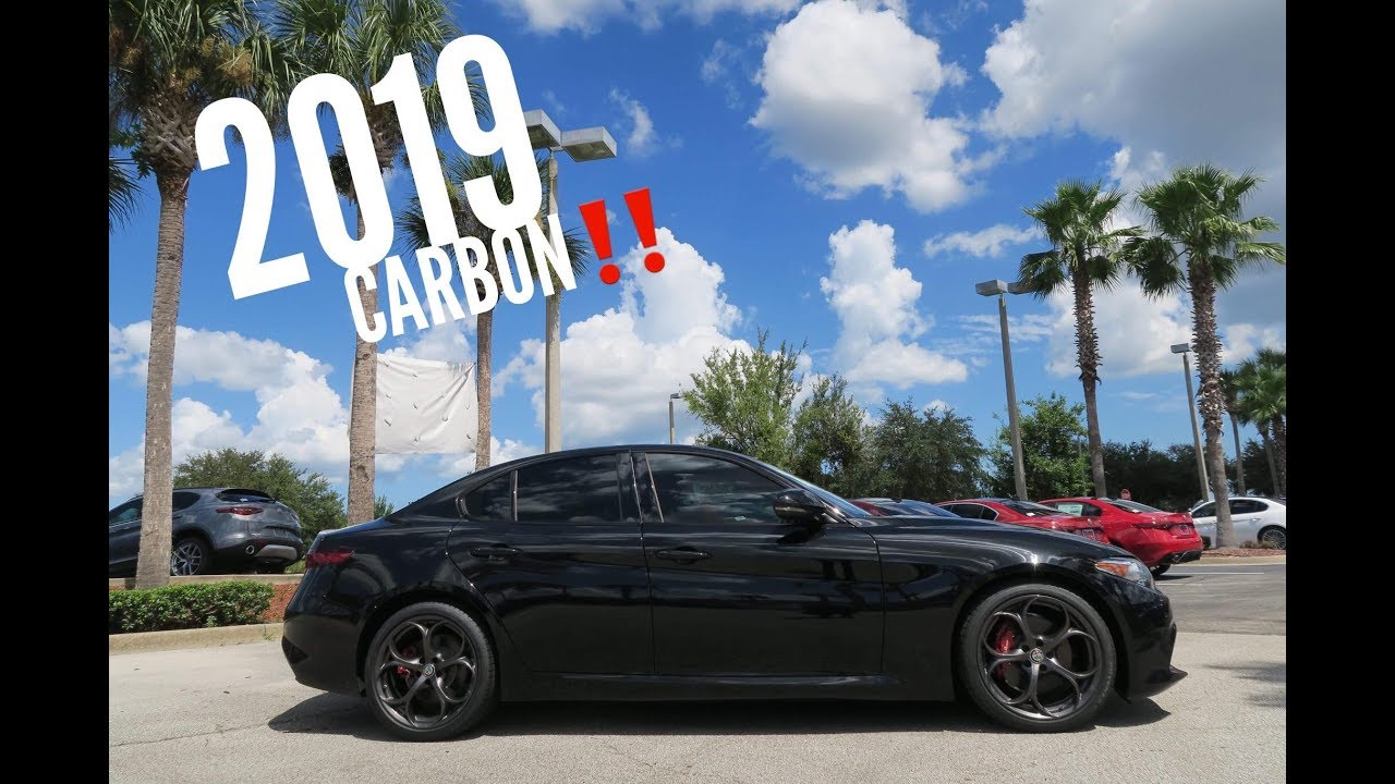 The 2019 Alfa Romeo Giulia Ti Sport Carbon Whats New