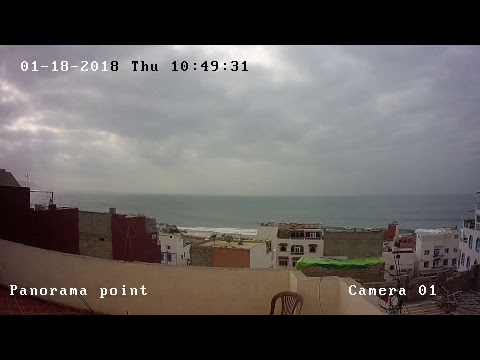 Taghazout surf live - Panorama point