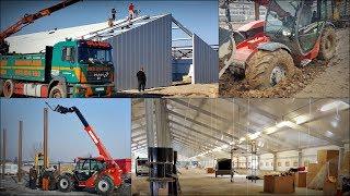 Budowa dwóch kurników na 26.000 szt. ☆ Trudne warunki, Manitou i wywóz ziemi ㋡ GoPro u Seby #1