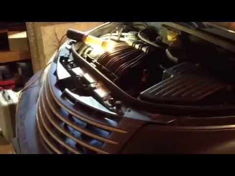 Pt cruiser timing belt change part 1 youtube sciox Images