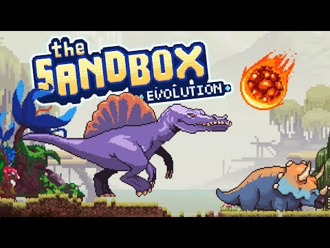 AWESOME NEW DINOSAURS and NATURAL DISASTERS! - Let's Play The Sandbox Evolution