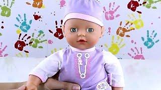vuclip 32cm Sucks Thumb Doll / Lalka z Butelką - My Little Baby Born - Zapf Creation - Cobi - 811320