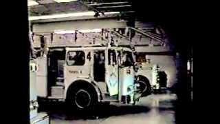 Denver Fire Dept  Trk  4, runs