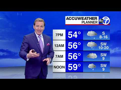 NYC Weather Forecast: Heavy Rain Then Snow By Wednesday Morning