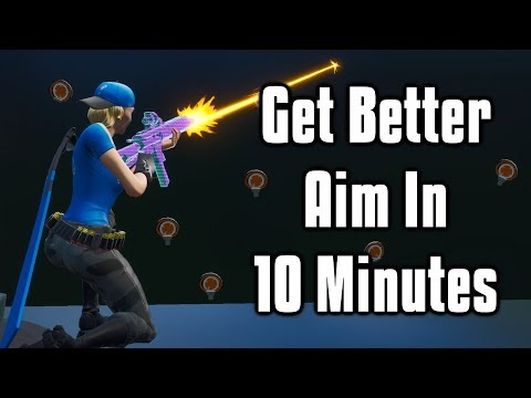Improve Your Aim In JUST 10 Minutes! - PC + Console (Fortnite Battle Royale)