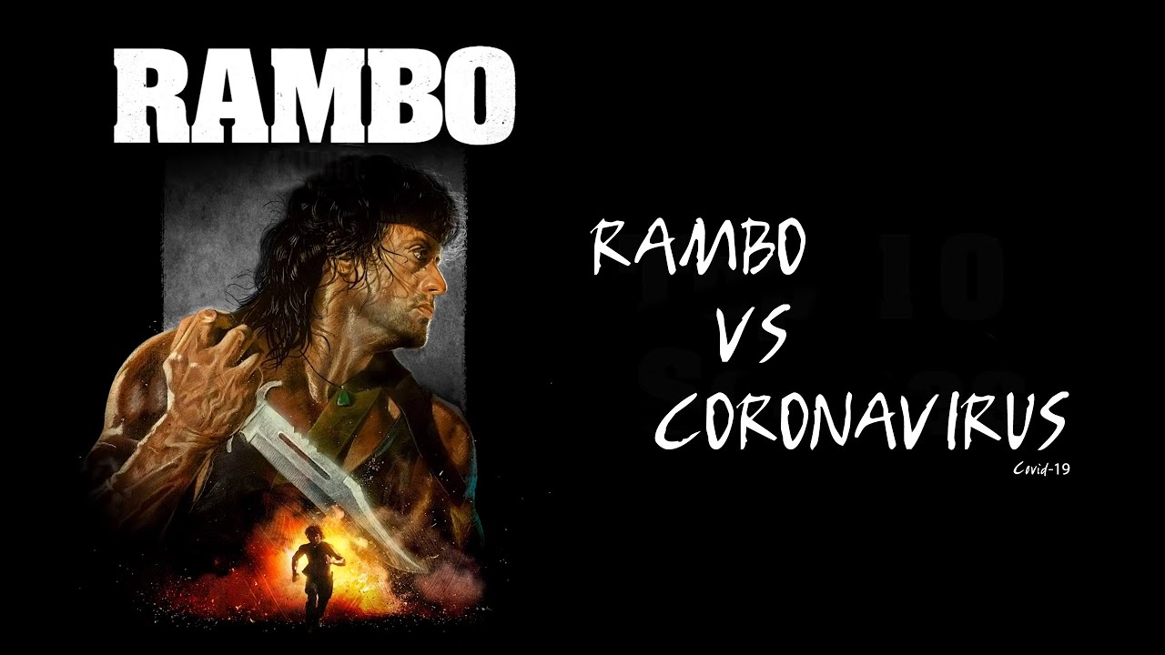 Rambo et le covid19 - Création Hors serie -