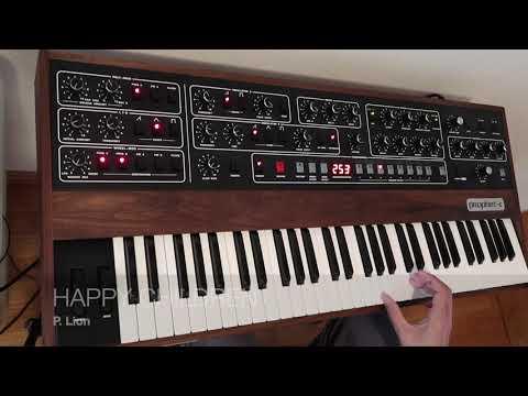 Prophet 5 rev 4- A few Pads and Brass custom sounds.