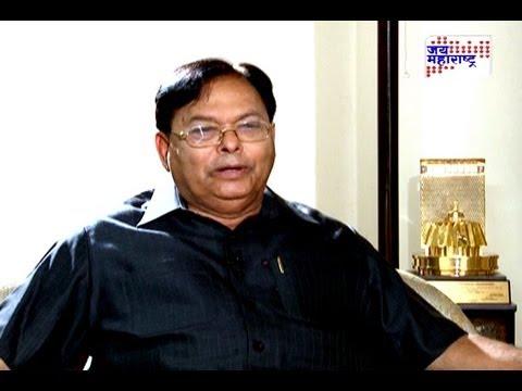 Patangrao Kadam with Ravindra Ambekar on Jai Maharashtra news