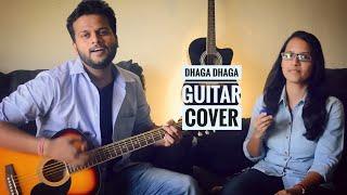 Dhaga Dhaga marathi song guitar cover | Duet | Gaurav More Feat. Neha Prabhughate