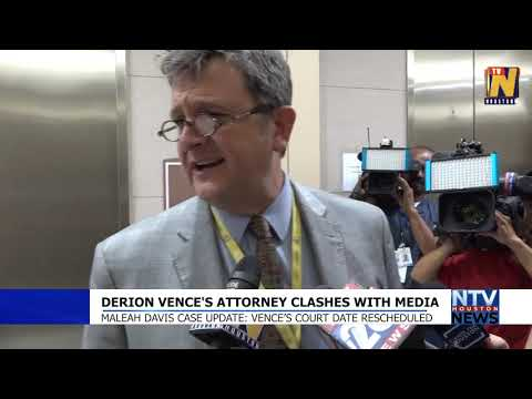 Derion Vence's Attorney Clashes With Media