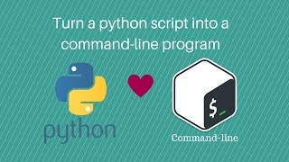 How to turn a python script into a command-line program
