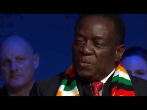 One-on-one with Zimbabwean President Emmerson Mnangagwa