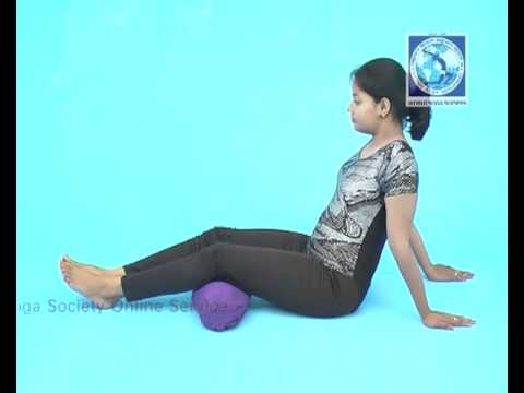 Lifting of knee joint pillow under knees