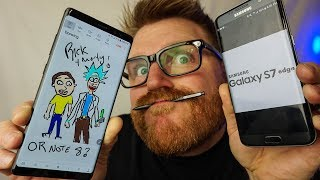 Top 5 Reasons To Choose Galaxy S7 Edge or S8+ Over the Note 8
