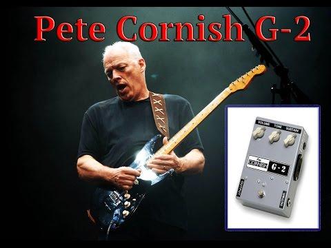Guitar pedal sound test: Pete Cornish G2 (David Gilmour)