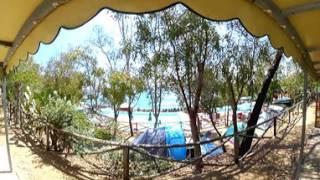 Sistemazioni Case Mobili - Camping Telis a Tortolì, Sardegna - Video 360