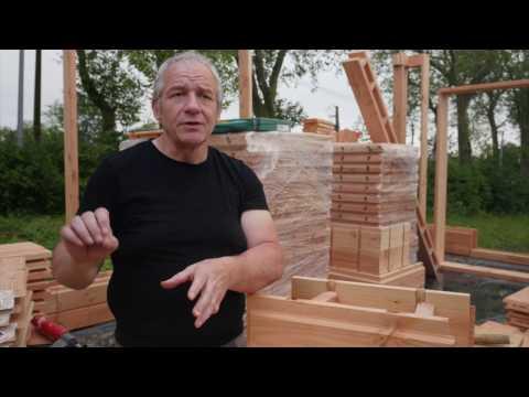 INTERVIEW - Alain, inventeur de la Brique  (HD 1080p) - Brikawood International