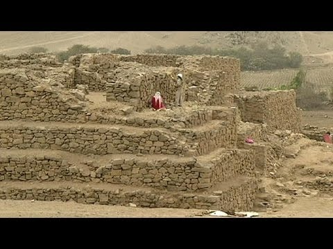 Property developers destroy ancient pyramid in Peru