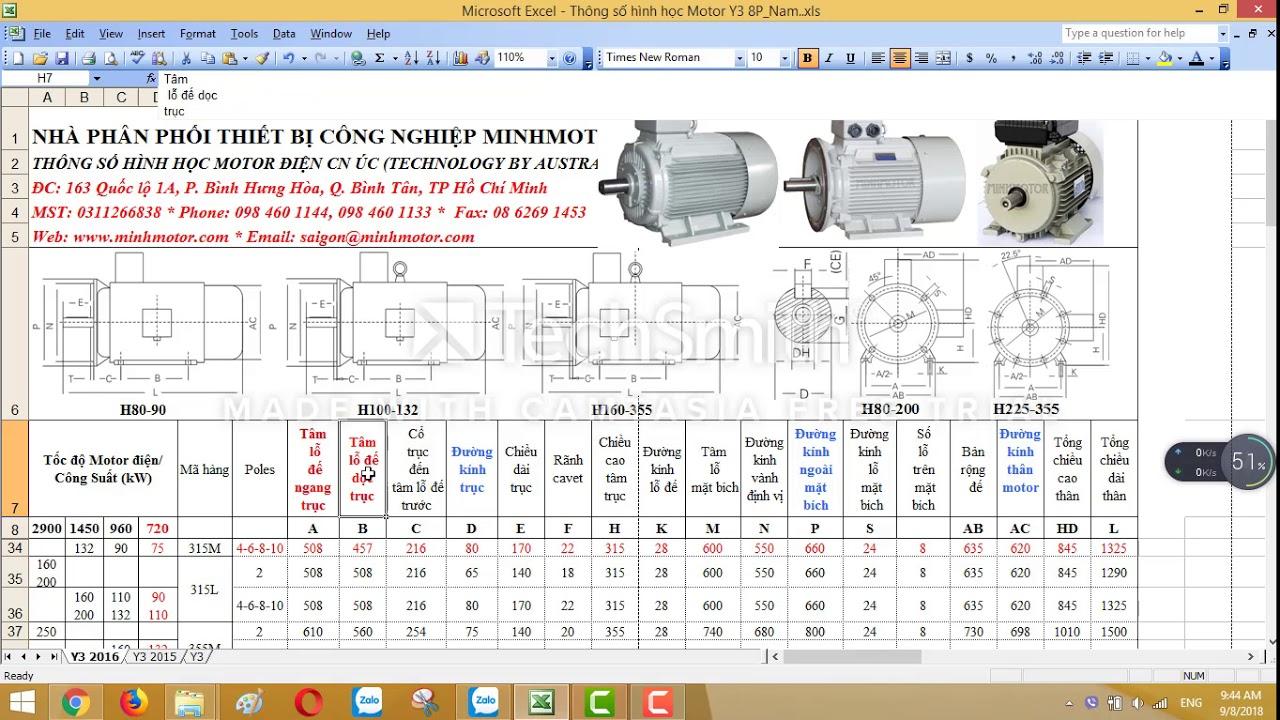Bản vẽ kỹ thuật động cơ điện 75 kw 100 HP 720 vòng phút, MINHMOTOR 0968140191 .