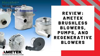 Video A detailed overview of AMETEK's motorized air/fluid motion products download MP3, 3GP, MP4, WEBM, AVI, FLV Agustus 2018
