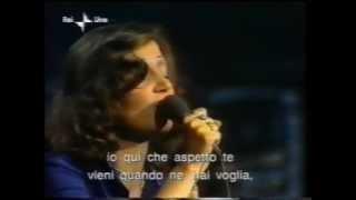 Mia Martini in Minuetto Versione francese live