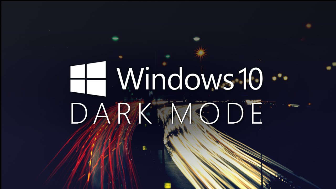 How To Enable The Dark Theme In Windows 10 Anniversary