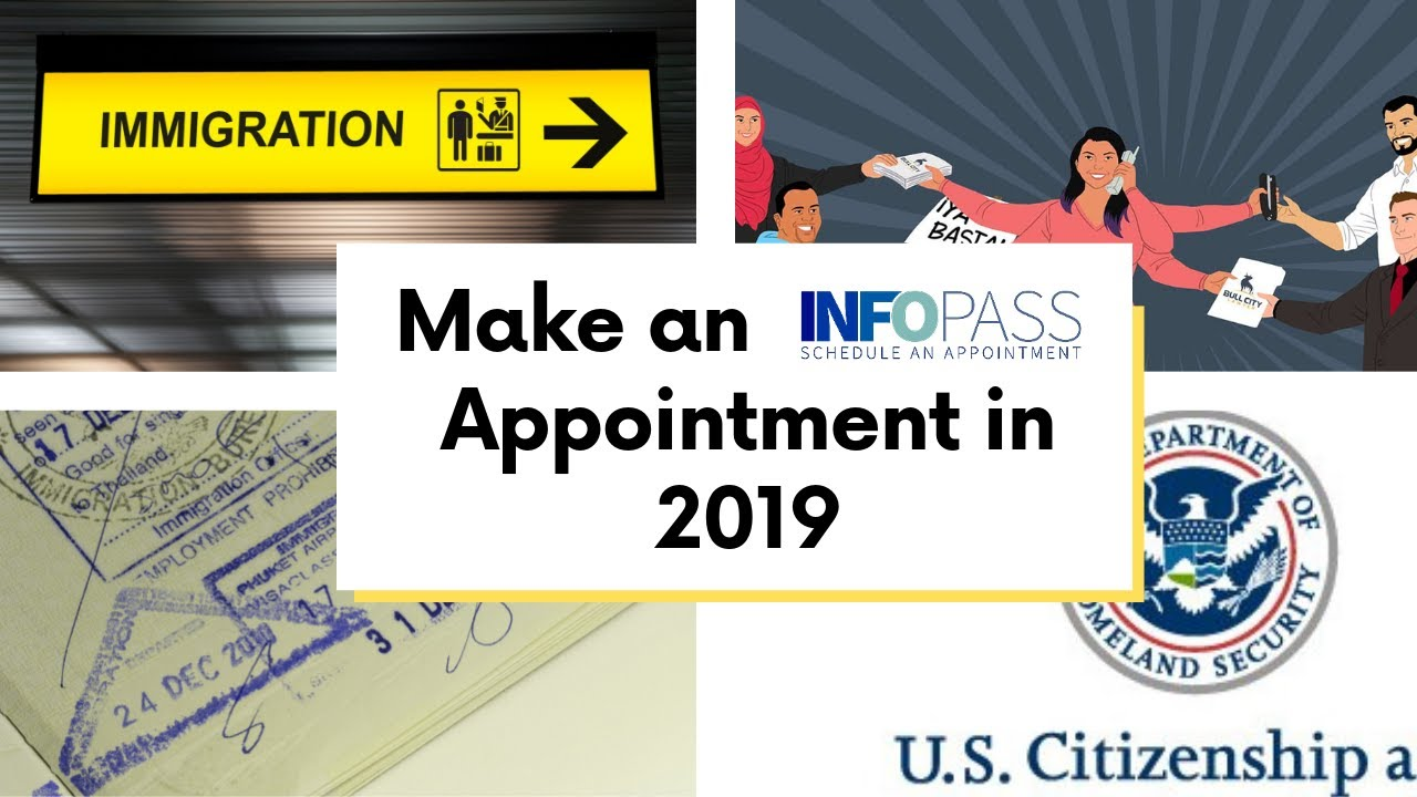 Infopass 2019 Help - How to make a USCIS Infopass appointment in