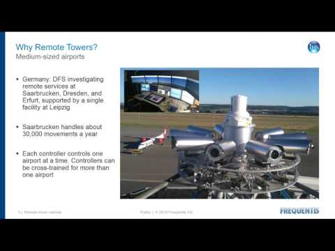 Webinar: Remote virtual towers: Business case, research and practical experience