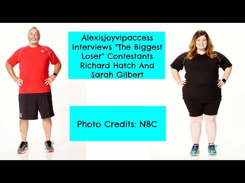 The Biggest Loser Contestants Richard Hatch And Sarah Gilbert Interview With Alexisjoyvipaccess