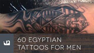 60 Egyptian Tattoos For Men