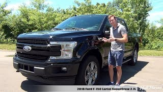 Review: 2018 Ford F-150 Lariat SuperCrew 2.7L