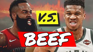 GIANNIS HARDEN BEEF - Is Giannis WRONG to call out James Harden?