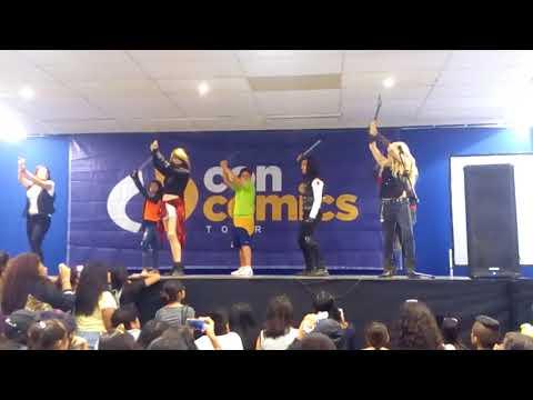 Grecia Villar  ConComics Acapulco parte 3/