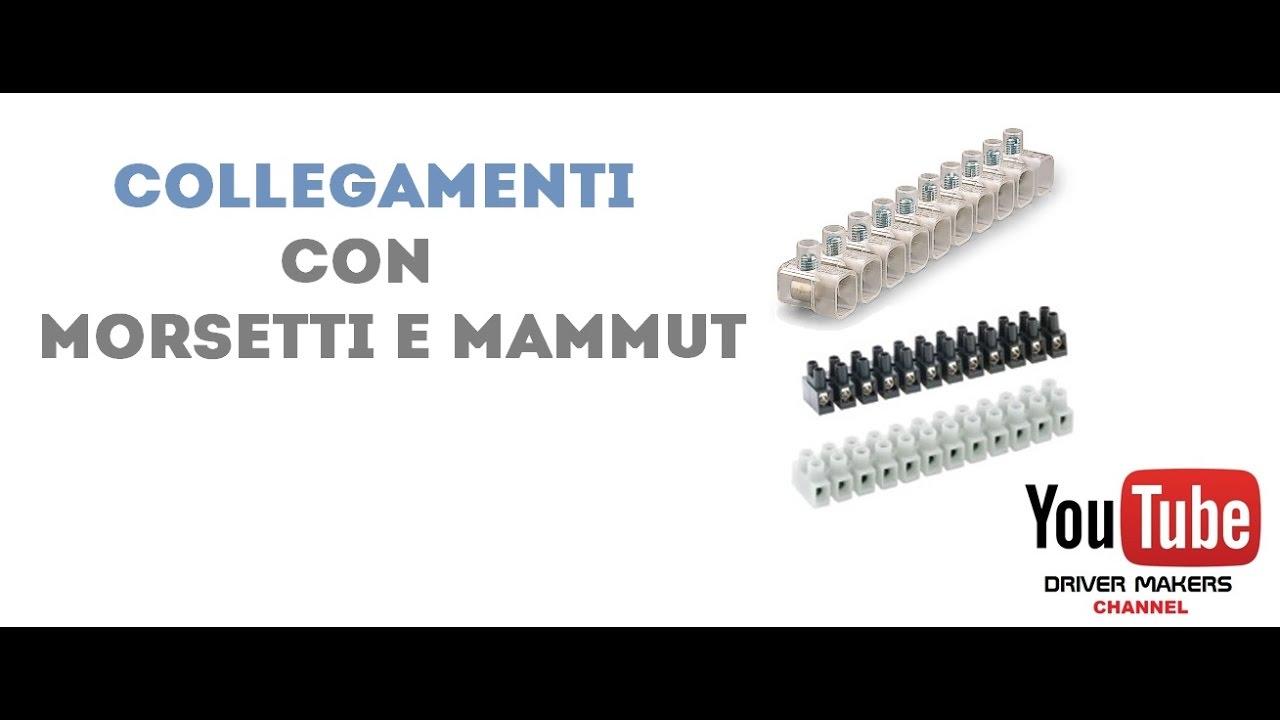mammut elettrico  Collegamenti con Morsetti e Mammut - YouTube