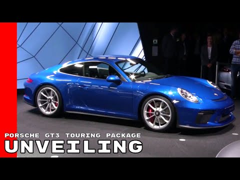 2018 Porsche GT3 911 Touring Package Unveiling
