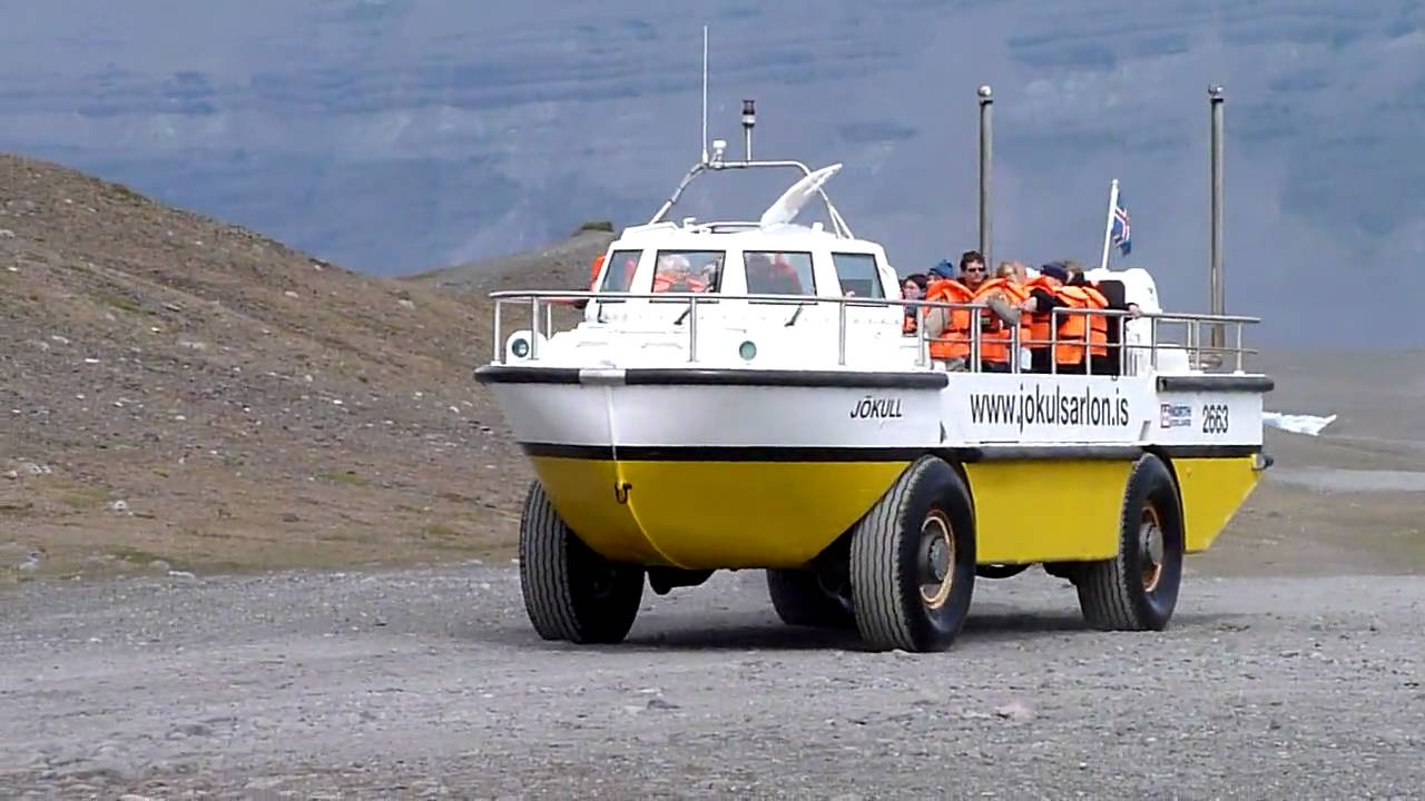 Larc 5 Amphibious Vehicle Youtube