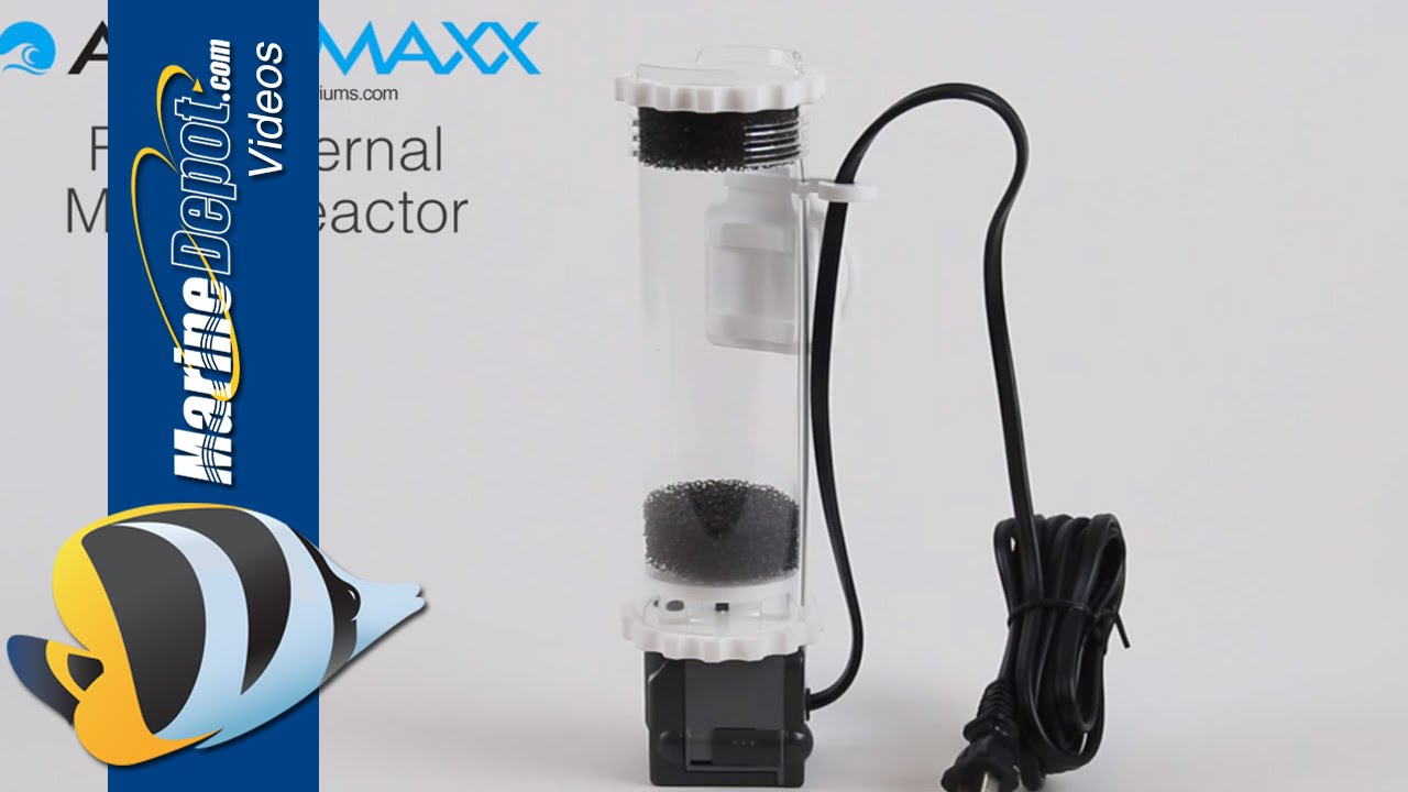 AquaMaxx Fr-s Internal GFO Carbon and Biopellet Filter Media Reactor with Sicce Pump
