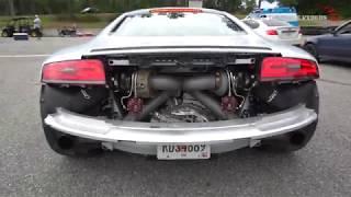 800HP AUDI R8 TROLLS STREET RACE EVENT