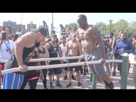 Superhuman Strength Calisthenics Battle